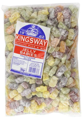Jelly Babies (dusted) x 3kg